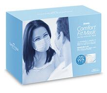コンフォートフィット マスク・プリーツ型3層式マスク